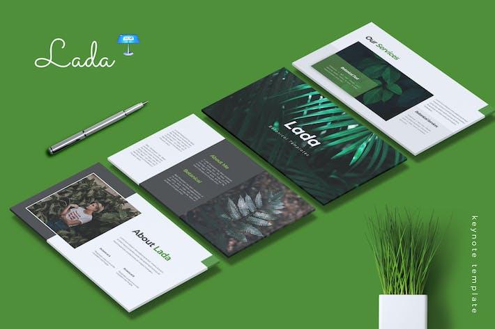 Thumbnail for LADA - Botanical Keynote Template