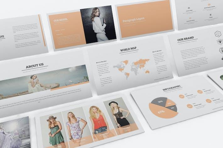 Thumbnail for Fashion Google Slides Template