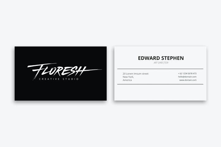 Thumbnail for Floresh - Creative Business card
