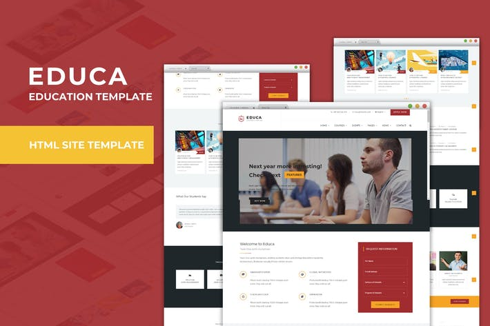 Educa - Education & Courses Template
