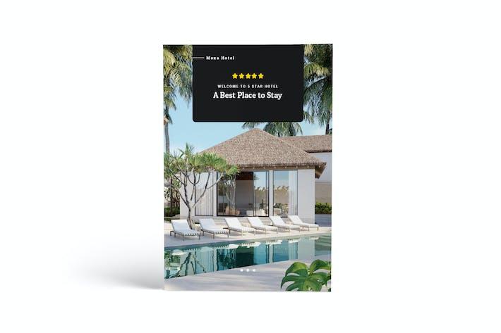 Thumbnail for Moxa Hotel A4 Brochure Template