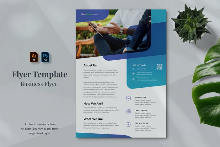 Thumbnail for Business Flyer Template 18