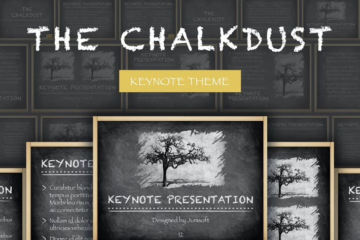 Thumbnail for The Chalkdust Keynote Template