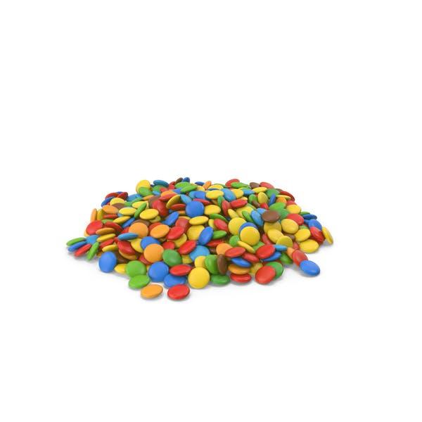 Куча конфет шоколадные конфеты