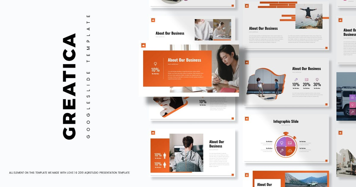 Download Greatica - Google Slide Template by aqrstudio
