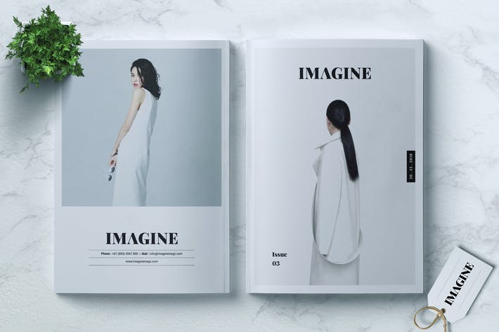 Thumbnail for IMAGINE - Fashion Magazine