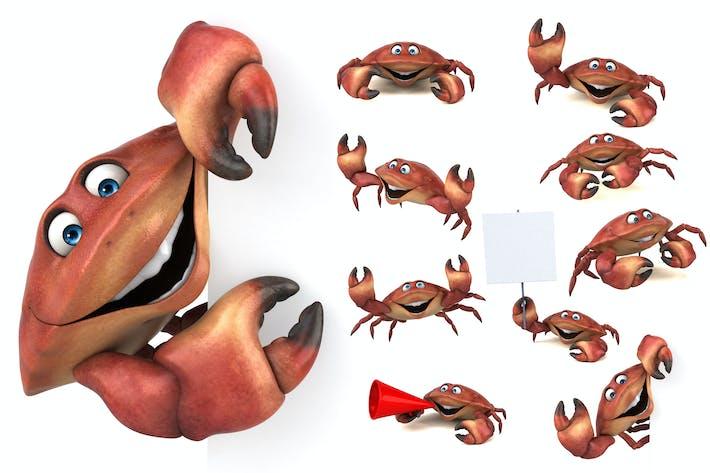 Thumbnail for 10 lustige Krabben!