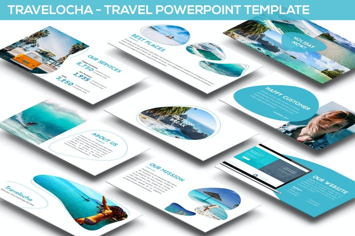 Thumbnail for Travelocha - Travel Powerpoint Template