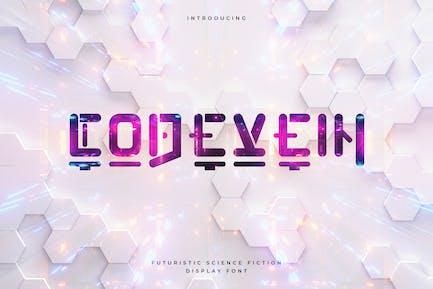 Codevein - Technologie Futuriste Typeface