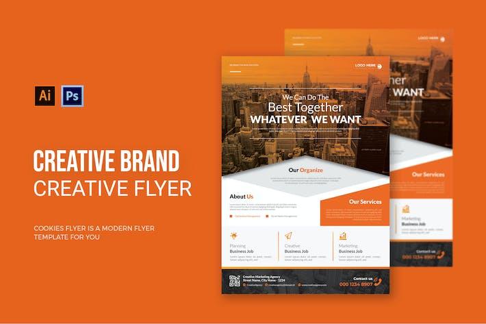 Creative Brand Agency - Flyer