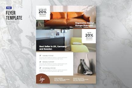 Minimal Furniture Flyer Template
