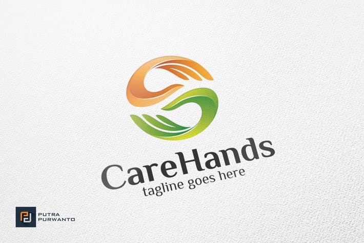 Thumbnail for Care Hands - Logo Template