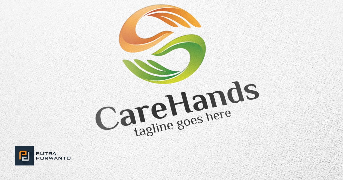 Download Care Hands - Logo Template by putra_purwanto