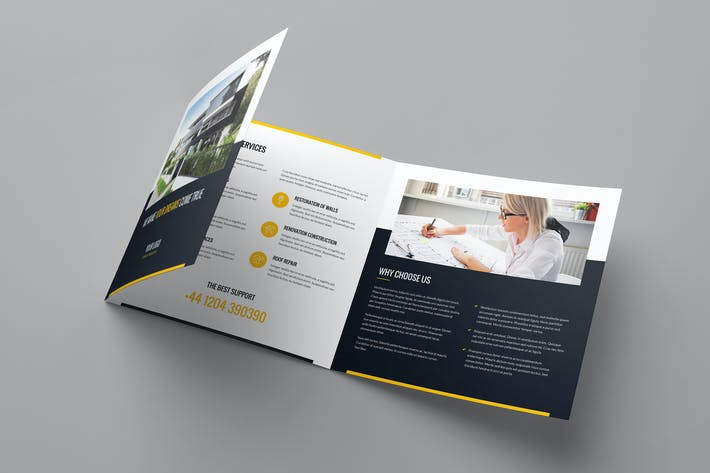 Thumbnail for Brochure – Builder Tri-Fold Square