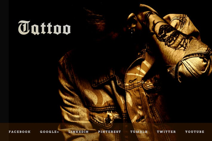 Thumbnail for Tattoo Studio – Social Media Kit