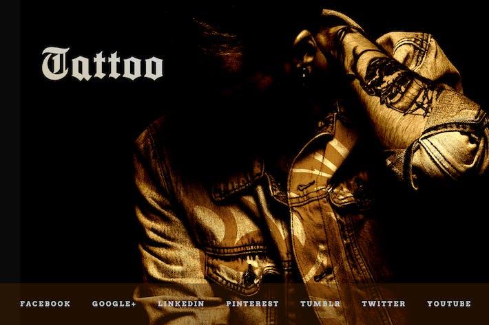 Thumbnail for Tattoo Studio — Social Media Kit