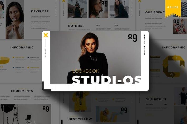 Thumbnail for Studios | Google Slide Template