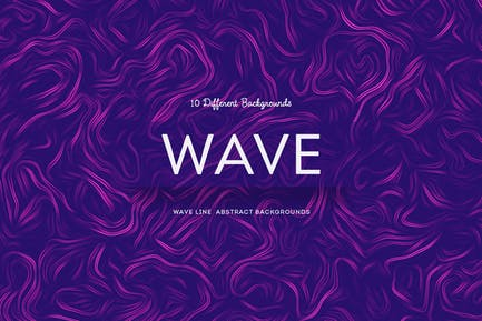 Wave Line  Abstract Backgrounds