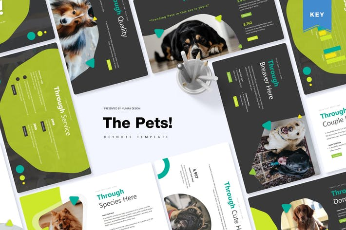 Thumbnail for The Pets | Keynote Template