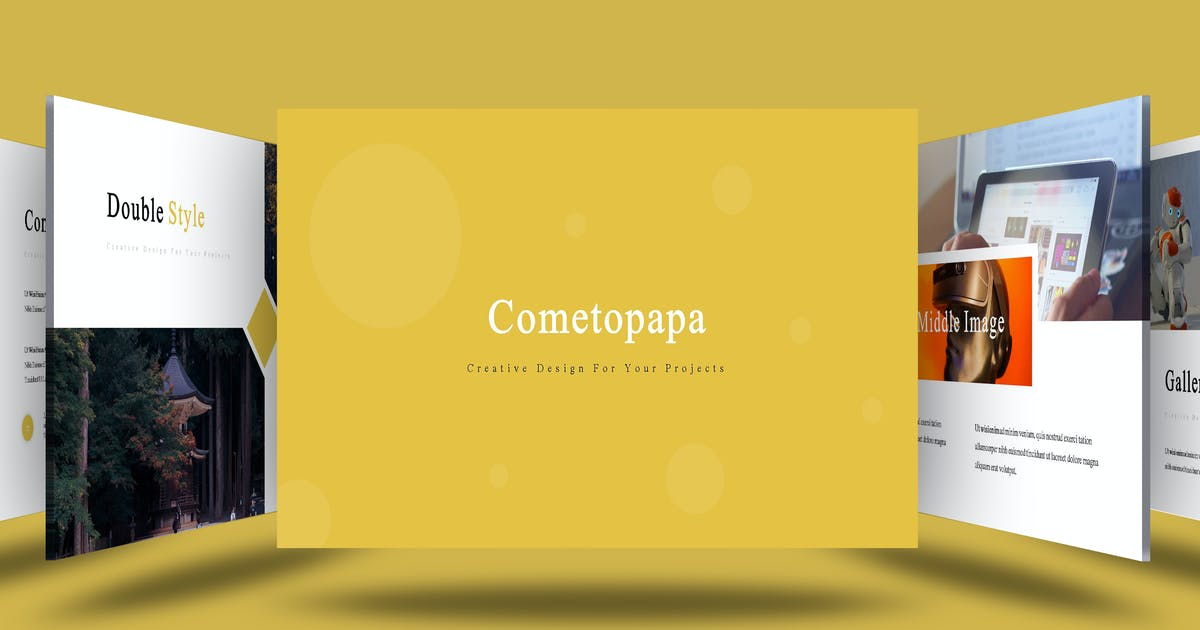 Download Cometopapa - Powerpoint Template by aqrstudio