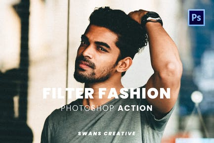 Filter Fashion Photoshop Action