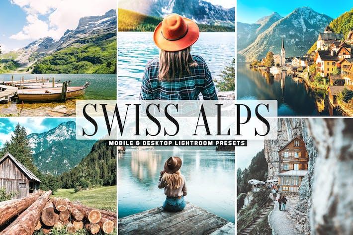 Thumbnail for Swiss Alps Mobile & Desktop Lightroom Presets