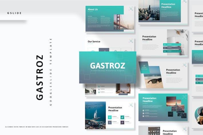 Cover Image For Gastroz - Google Slide Template