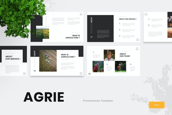 Thumbnail for Agrie - Agriculture Google Slides
