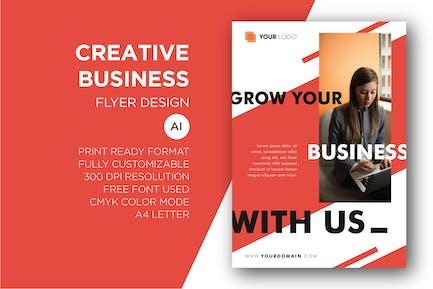 Creative Business - Flyer Design Template Vol. 01