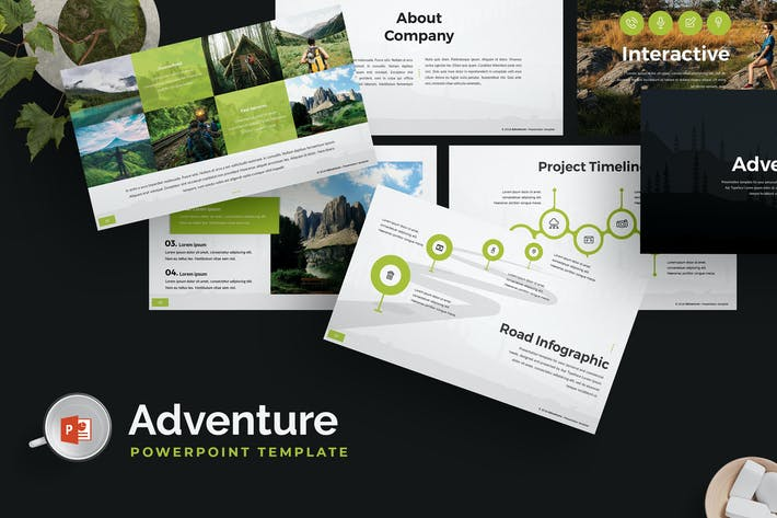 Thumbnail for Adventure - Powerpoint Template
