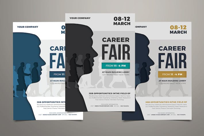Thumbnail for Job Fair Event Flyer