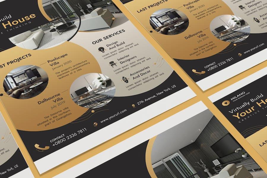 Architecture & Interior Designer Poster