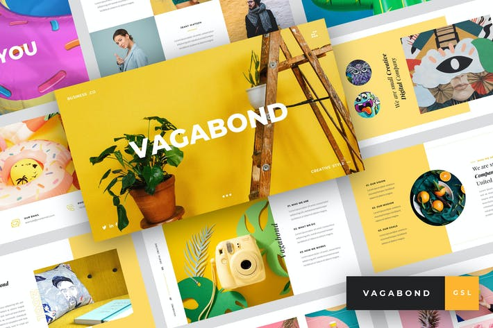 Thumbnail for Vagabond - Kreative & Business Google Slides