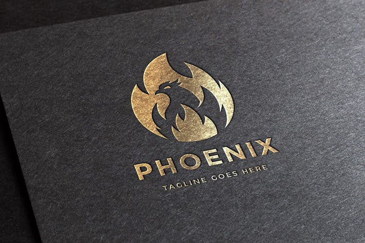 Thumbnail for Phoenix Logo Template