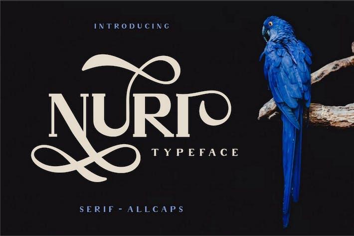 Thumbnail for Nuri - Fuente de pantalla elegante clásica