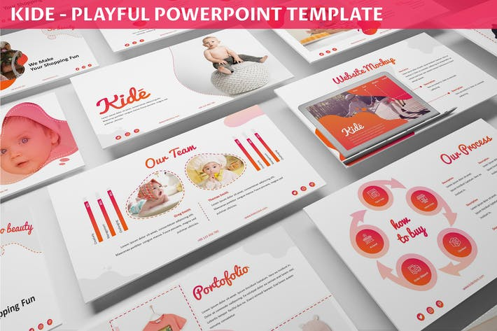 Thumbnail for Kide - Playful Powerpoint Template