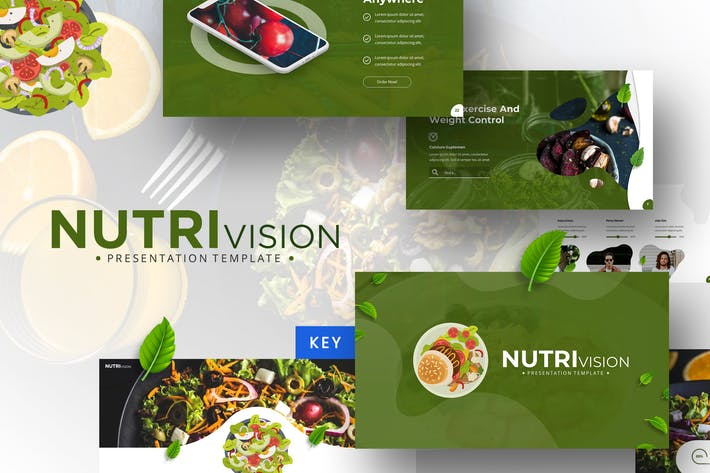 Thumbnail for Nutrivision - Keynote Template