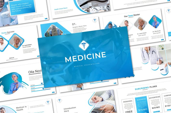 Thumbnail for Медицина - Шаблон Keynote