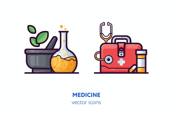 Cover Image For Medicine icons