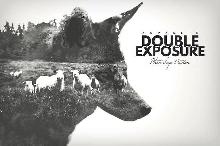 Thumbnail for Advanced Double Exposure - Acción de Photoshop