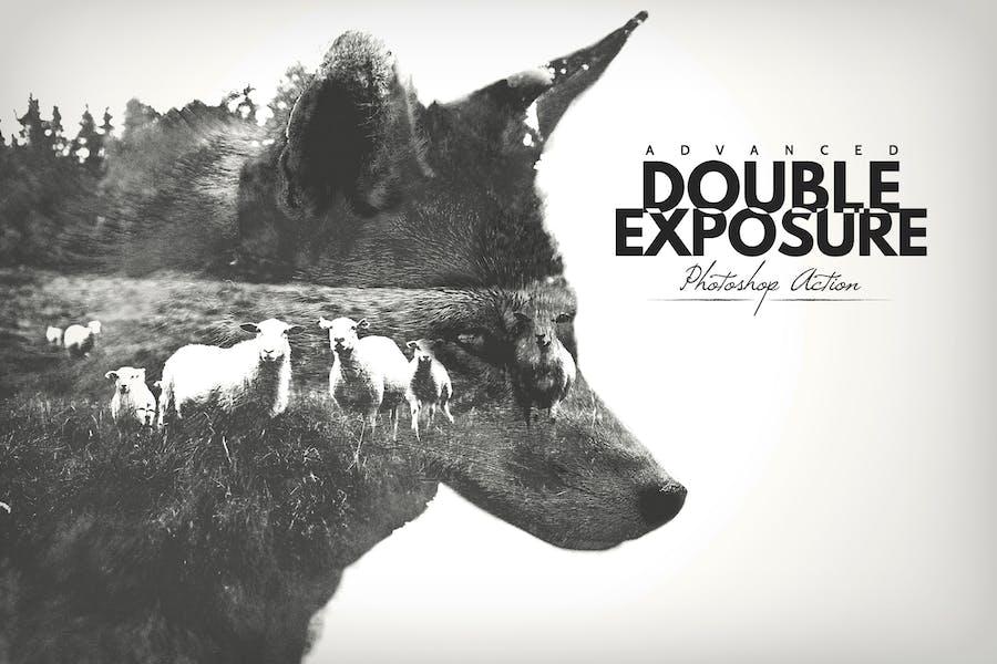 Advanced Double Exposure - Photoshop Action