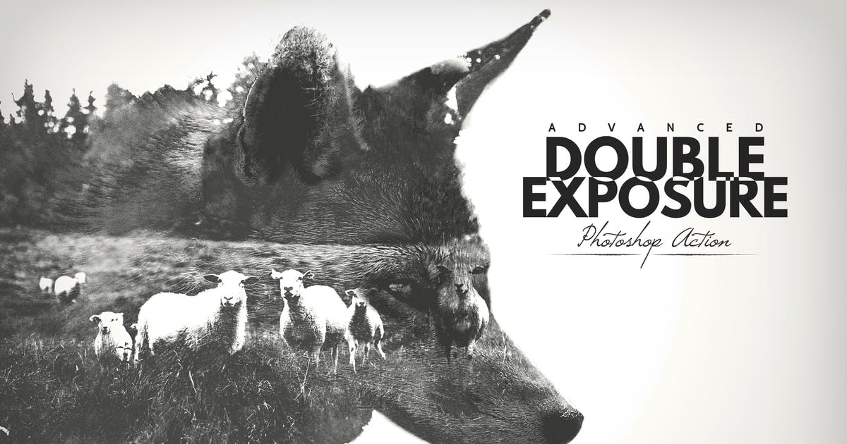Download Advanced Double Exposure - Photoshop Action by BlackNull