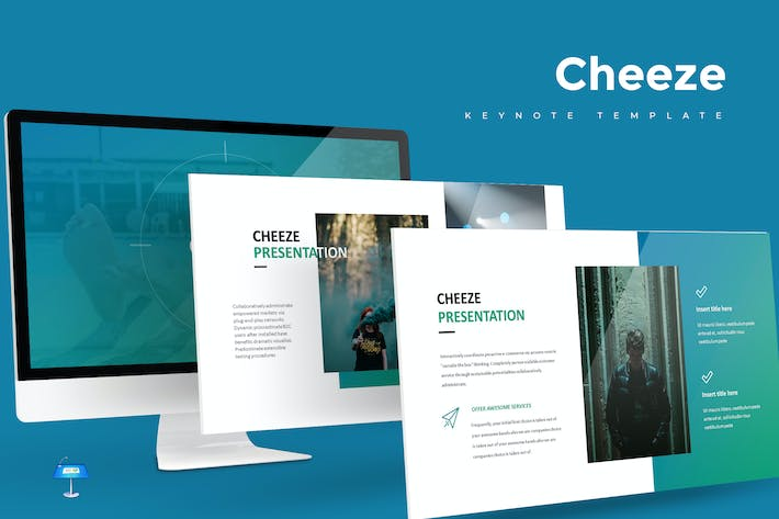 Thumbnail for Cheeze - Keynote Template