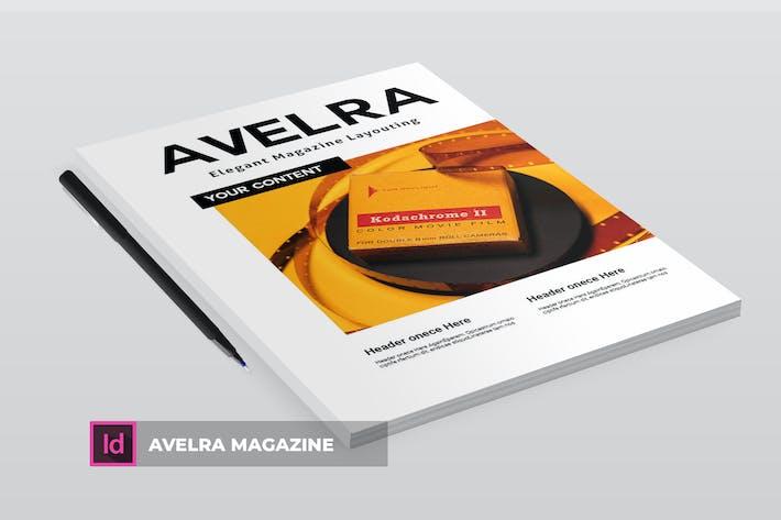 Thumbnail for Avelra | Magazine Template