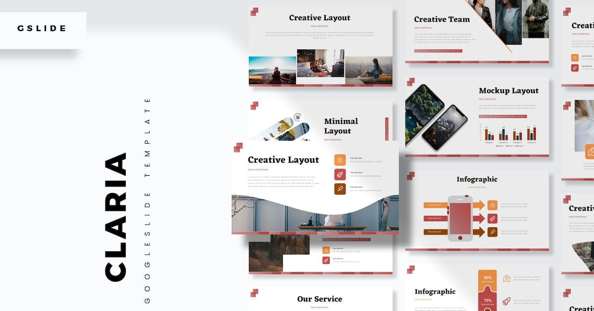 Download Claria - Google Slide Template by aqrstudio