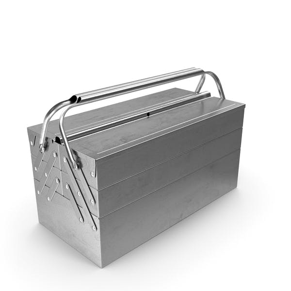 Heavy Duty Metal Cantilever Toolbox
