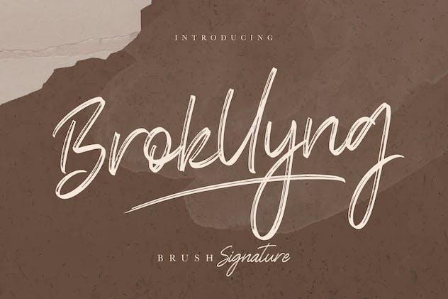 Brokllyng Brush Signature - product preview 11