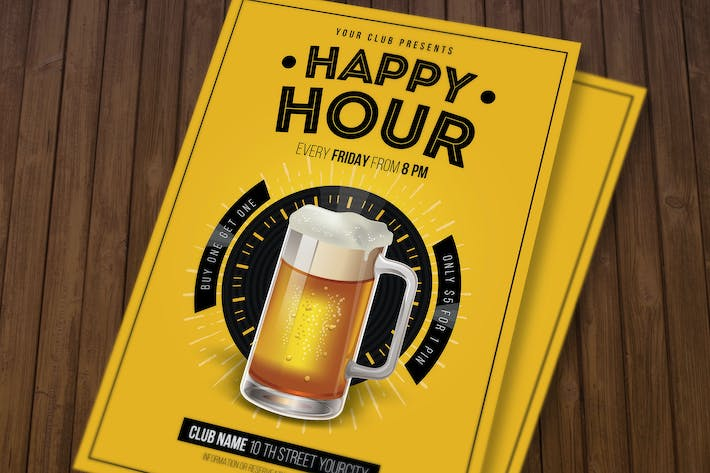 Thumbnail for Happy Hour beer Promotion