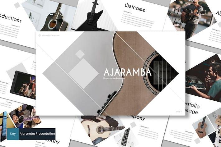 Thumbnail for Ajaramba - Keynote Template