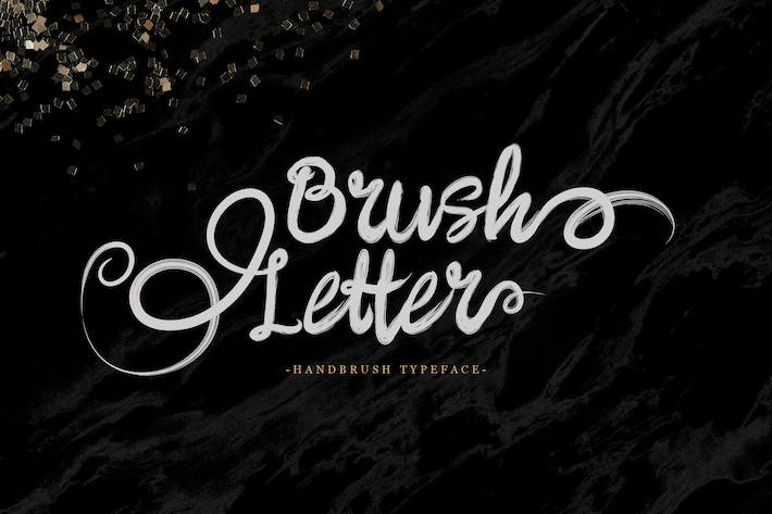 Thumbnail for Brushletter - Handbrush Font